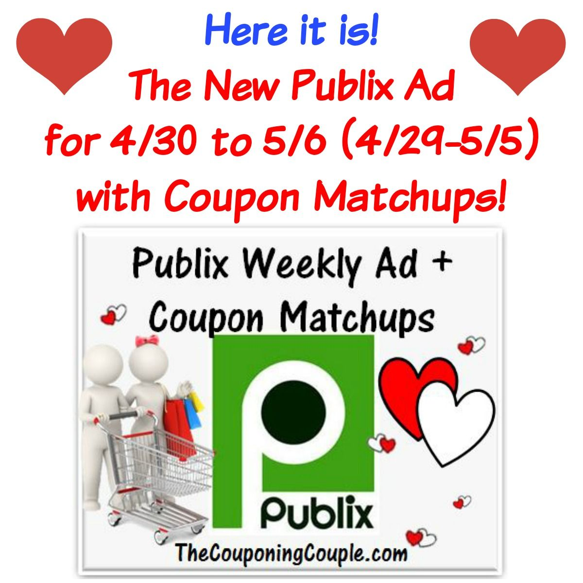 Publix Ad With Coupon Matchups For 4 30 To 5 6 15 4 29 5 5 Coupon Matchups Publix Ad Publix