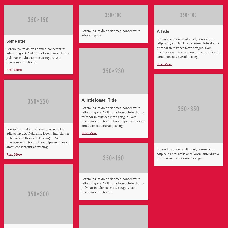 Masonry Layout using Flexbox | Web development, Layouts and Design web