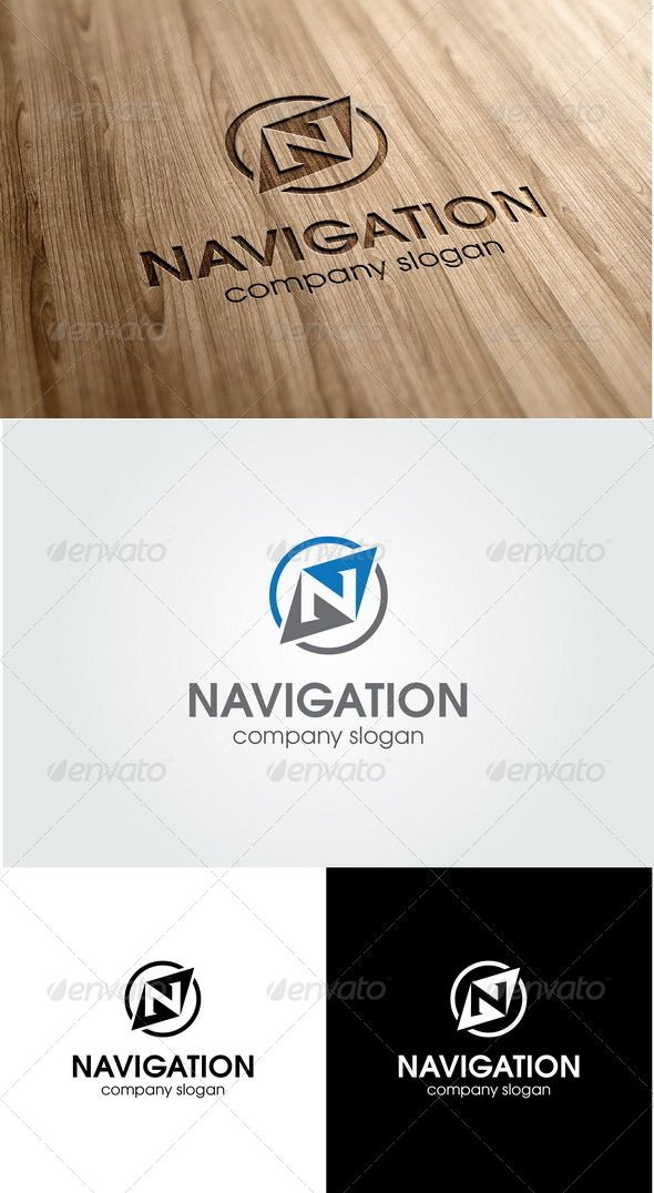 Navigation letter n logo business company logo templates and logos navigation letter n logo thecheapjerseys Image collections