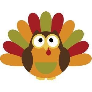 Owl turkey thanksgiving   Thanksgiving Clip Art