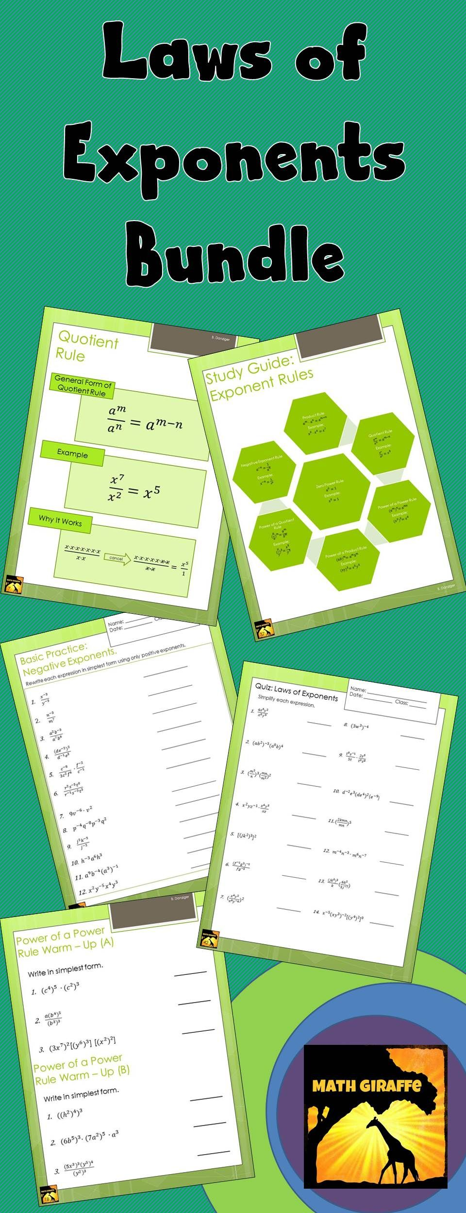 Wow Tons of math worksheets for every grade every topic – Product and Quotient Rule Worksheet