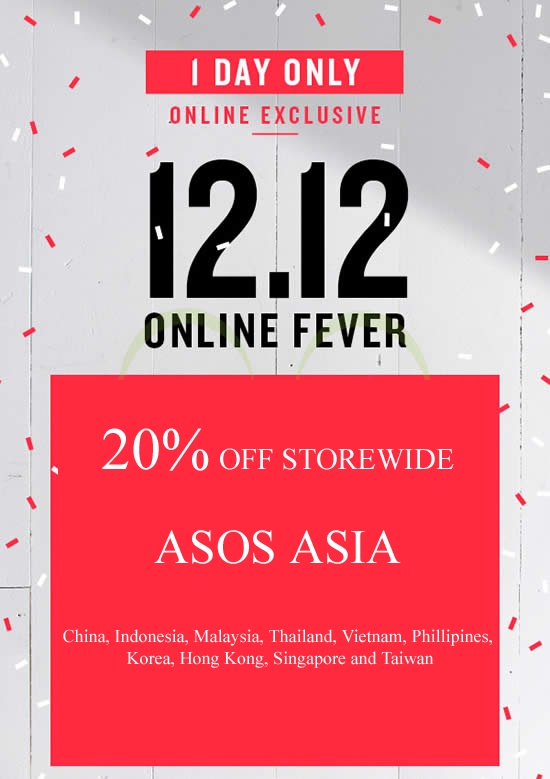 12 12 Promo For Asos Enter Coupon Code 12double And Get 20 Off Asos Promo Code Asos Discount Asos Discount Code