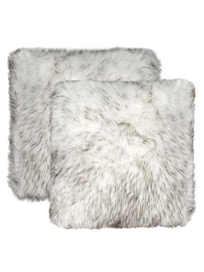 Natural Home Belton Sheep Faux Fur Pillows (Set of 2)
