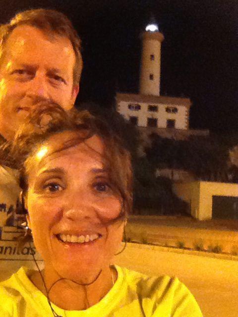 Feiko y Gema en Ibiza