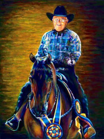 Andy's Contenporary Equine Art ~ Morgan