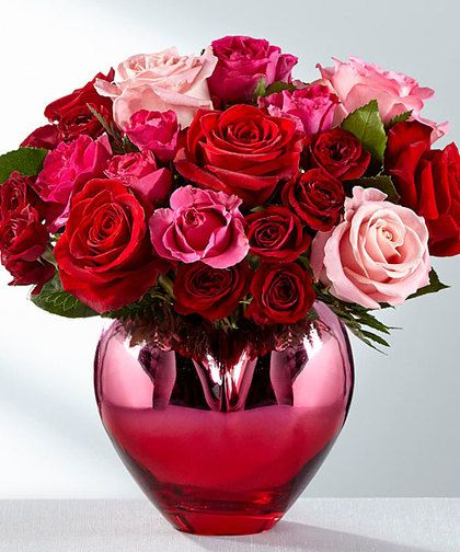 Hold Me In Your Heart Shining With Love S Every Wish This Valentine S Day Bouquet Puts Your H Flowers For Valentines Day Same Day Flower Delivery Rose Bouquet