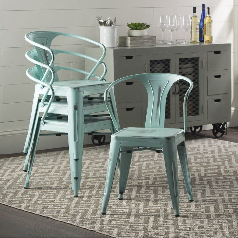 Chandler Dining Chair in 2020 Metal dining chairs