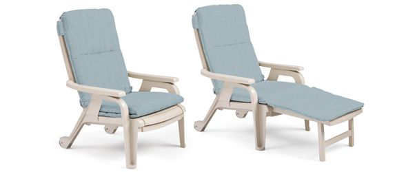 Bahia Reclining Stackable Deck Chairs Recline Put Your Feet Up Then Roll Away And Stack Outdoor Recliner Deck Chairs Chair
