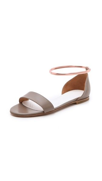Maison Martin Margiela Sandal with Metal Ring