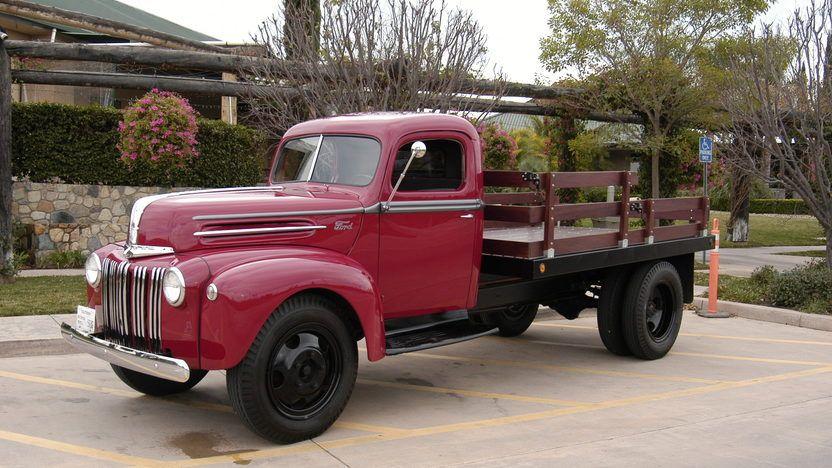 1947 Ford 1 1 2 Ton Pickup T193 Anaheim 2012 In 2020 Ford Trucks Trucks Classic Pickup Trucks