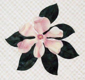 Magnolia Petal Play by Joan Shay Applique Quilt by ArwensChild ... : magnolia quilt pattern - Adamdwight.com