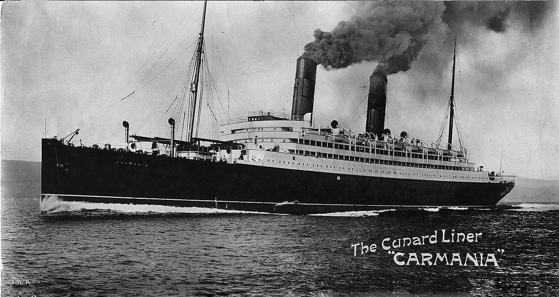 Carmania (1905), a liner that was launched at Clydebank's John Brown and  Co. on 21 February 1905. Carmania the largest …   Cunard, Cruise ship,  Carnival corporation