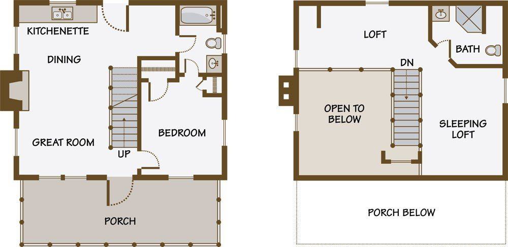 Log Guesthouse Diary Entry Planning Log Guesthouse Log Homes Floor Plans Design Planning Houses