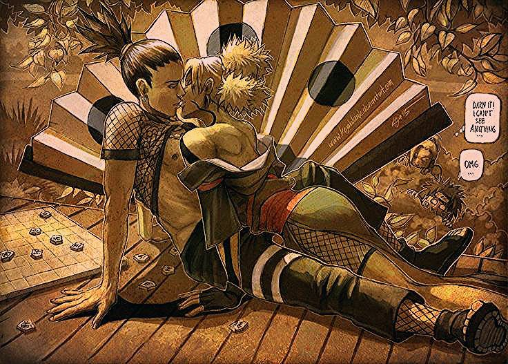 Shikamaru Temari - Shadow kiss by KejaBlank on @DeviantArt - #DeviantArt #KejaBlank #kiss #nara #Shadow #Shikamaru #Temari