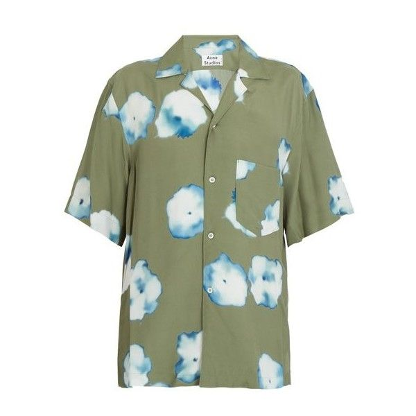 9faced6e52 Men s Clothing · Acne Studios Elms short-sleeved floral-print shirt (11