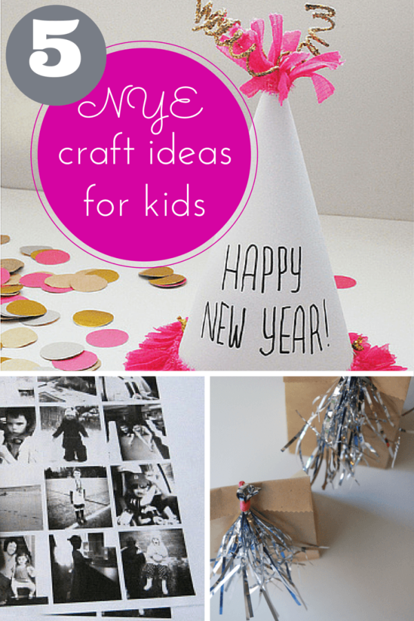 Hodge Podge / 5 fantastic New Years Eve craft ideas for kids!