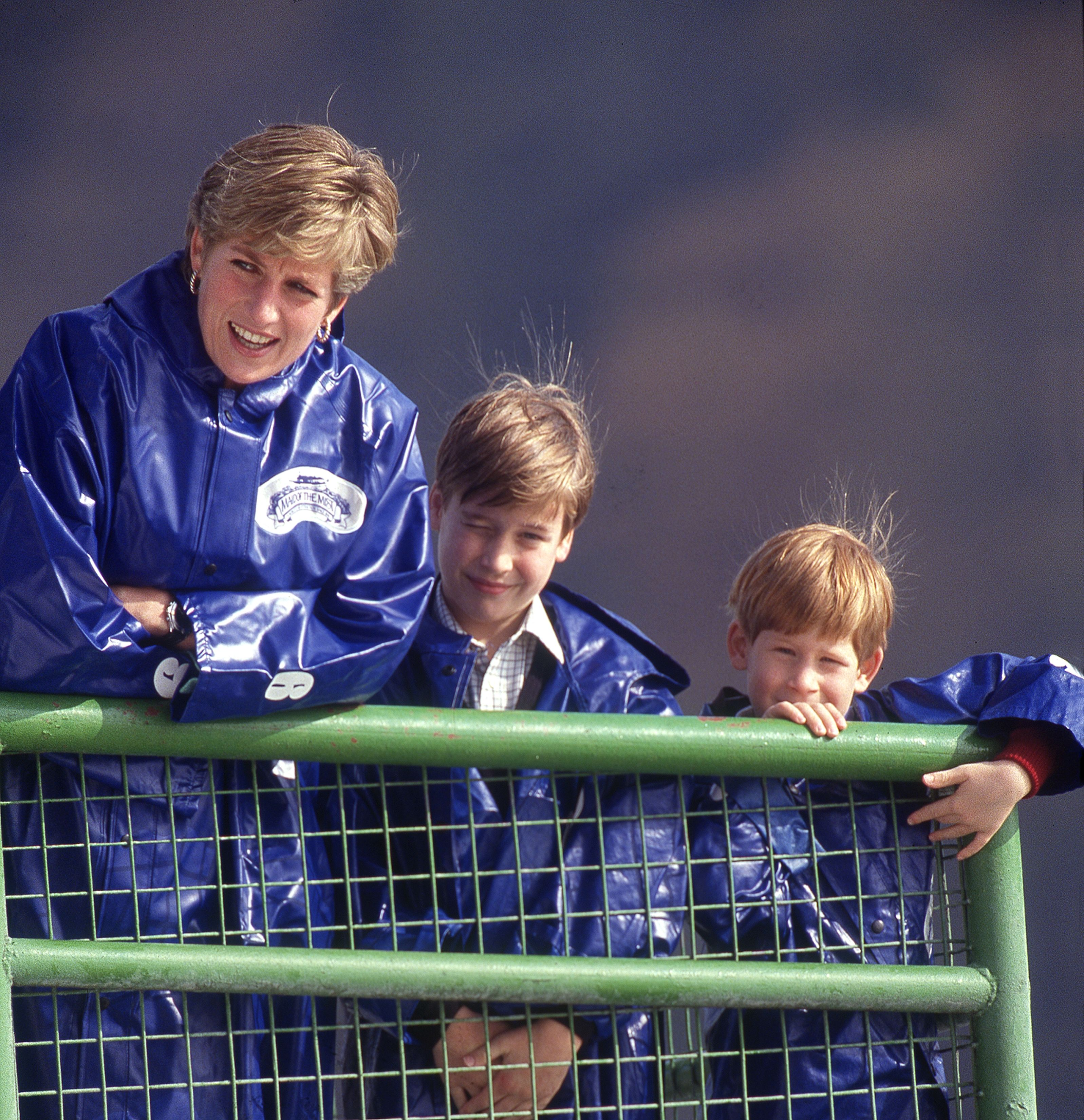 See Princess Diana's Sweetest Moments With Sons Prince