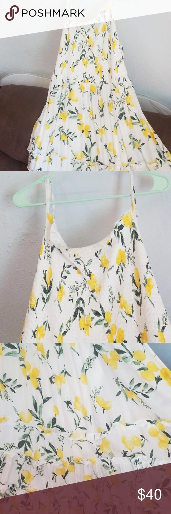 Torrid Size 4 White And Lemon Dress Nwt Lemon Dress Stretchy Tops Torrid Dresses [ 1740 x 580 Pixel ]