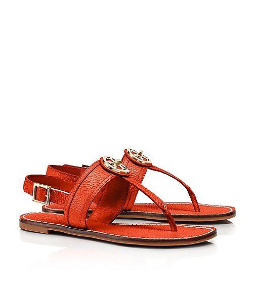 Selma Flat Slingback Sandal | Womens Sandals | ToryBurch.com