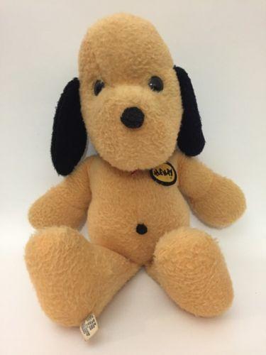 Vintage Animal Fair Henry Dog Stuffed Plush Toy 20 13 Sitting Name