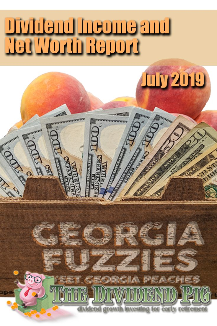 July dividend and net worth report 2019