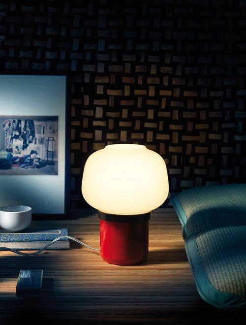 Doll table lamp by Lonna Vautrin