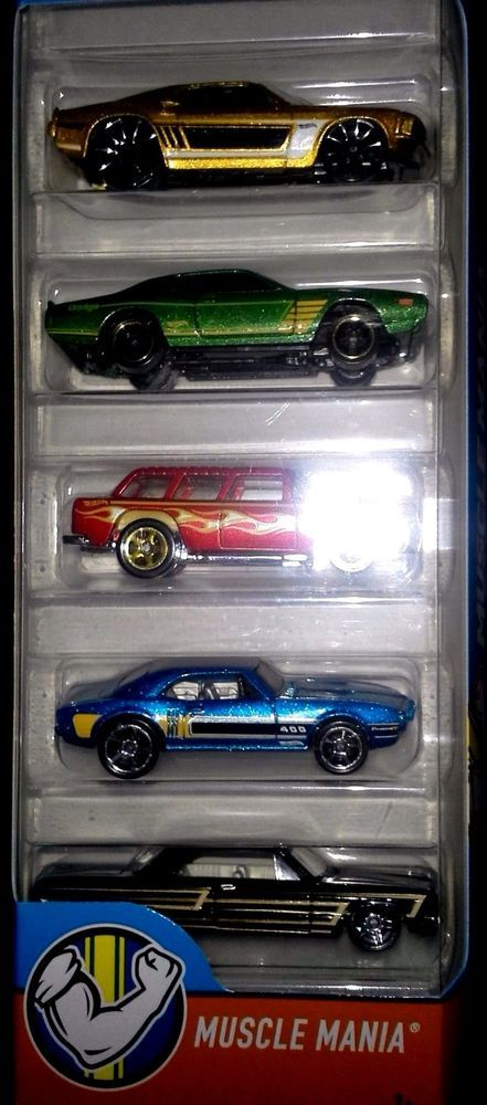Hot Wheels Muscle Mania Pack Wheels Muscles And Cars