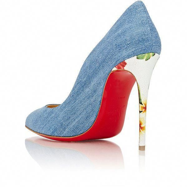 f8d33cc40b4 Christian Louboutin Womens Pigalle Follies Pumps (5 650 SEK) ❤ liked on Polyvore  featuring