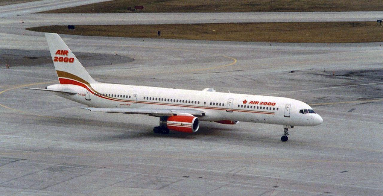 Air 2000 Boeing 757200 Canadian airlines, Vintage