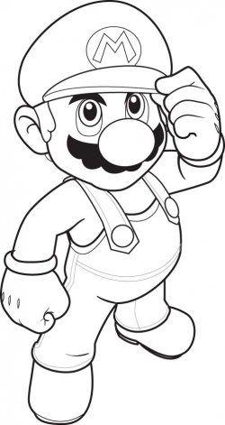 Coloriage Fleur Mario.Top 20 Free Printable Super Mario Coloring Pages Online Craft