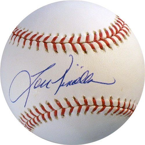 Lou Piniella Autographed/Hand Signed Rawlings Official MLB Baseball by Hall of Fame Memorabilia. $48.95. This official Rawlings MLB baseball has been personally autographed/hand signed by Lou Piniella of the New York Yankees, Cincinnati Reds, Chicago Cubs and Kansas City Royals. This product comes with an individually numbered, tamper evident hologram and certificate of authenticity from Hall Of Fame Memorabilia.