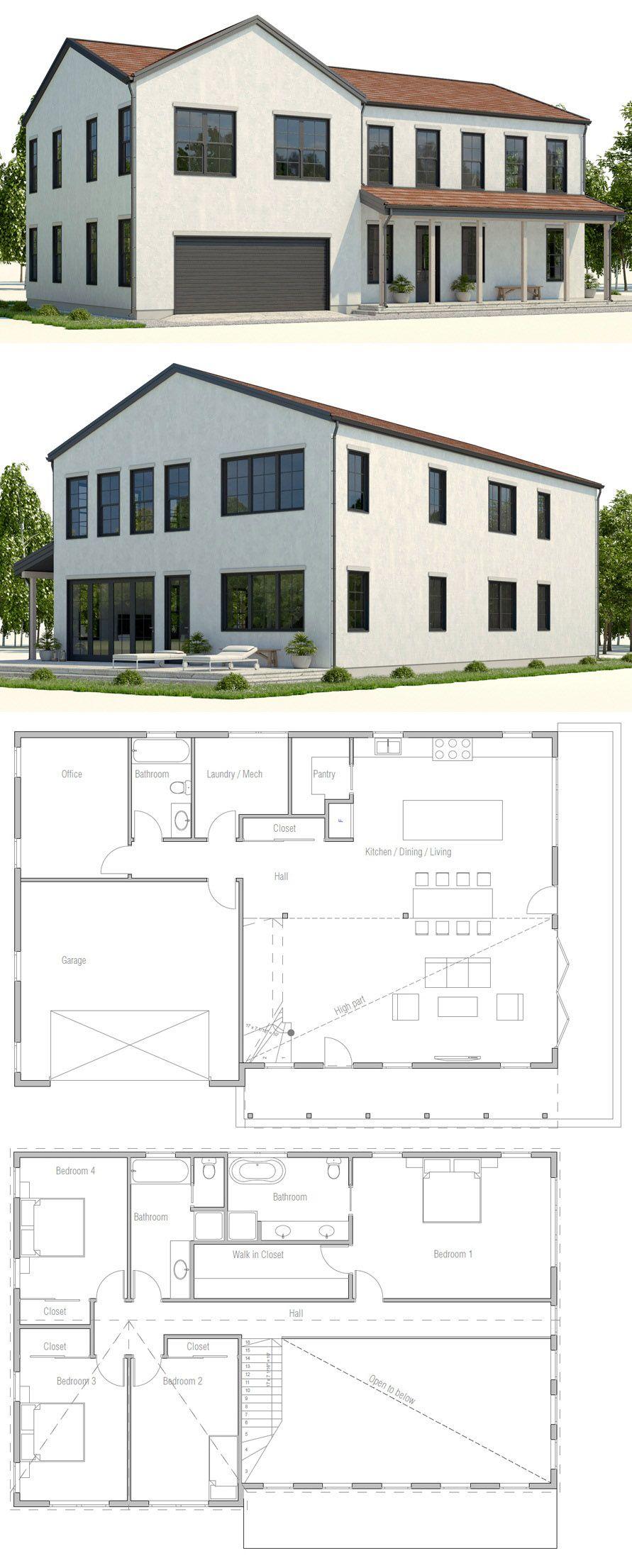 planta de casa casas pinterest architecture modern