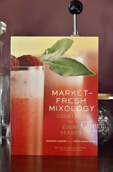 Market-Fresh Mixology: Cocktails for Every Occasion - Bridget Albert with Mary Barranco - newest addition to my library. Book encourages readers to shop farmer's markets, use their own garden ingredients & pantry items for cocktail inspiration. http://intoxicologist.net/2014/03/market-fresh-mixology-book-giveaway/