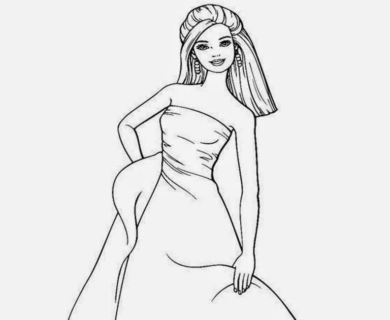 Paling Populer 30 Gambar Kartun Yang Sudah Diwarnai Gambar Barbie Memakai Gaun Panjang Untuk Diwarnai Barbie Kumpulan Ske Gambar Kartun Kartun Gambar Burung