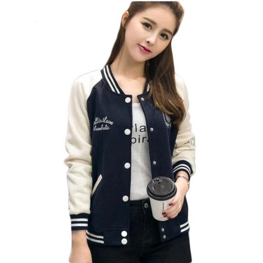 2017 Korean Sweatshirt Baseball Jacket Women Hoodies Coat Female Winte Eefury Baseball Jacket Women Bomber Jacket Women Sweatshirts Women