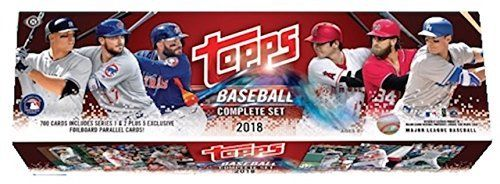 Topps 2018 Baseball Retail Edition Complete Card Factory Set Home