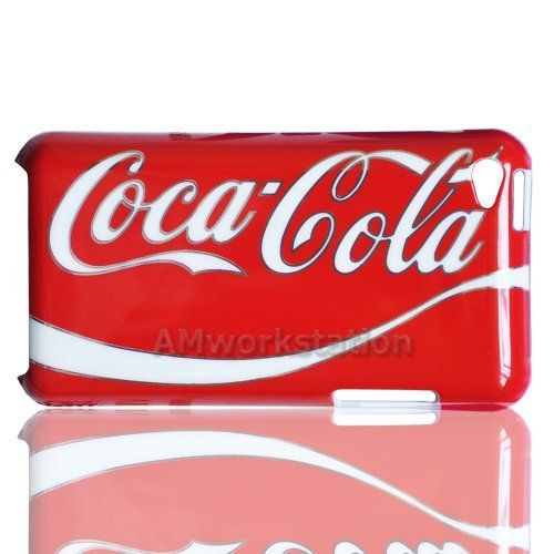 New Arrival Red Coca Cola Drink Logo Design Pattern Hard Case Skin Cover for Apple iPod touch 4 4th Generation by 7-14 DAYS TO USA by Seller AMworkstation, http://www.amazon.com/dp/B00AW80TU6/ref=cm_sw_r_pi_dp_-B-orb1RWERAF