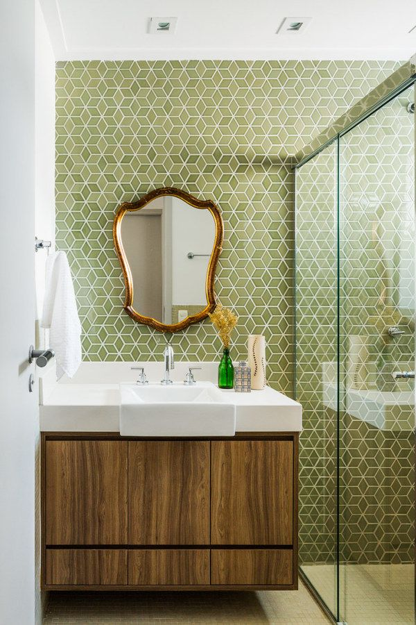 Banheiro pequeno decorado decor para ba os peque os - Banos pequenos decorados ...