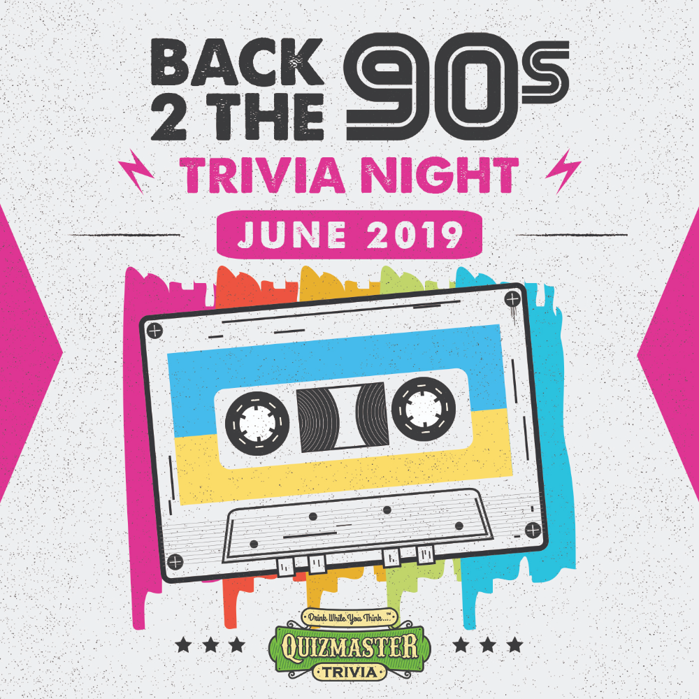 Back 2 the 90s Trivia... is Back this Summer! in 2020