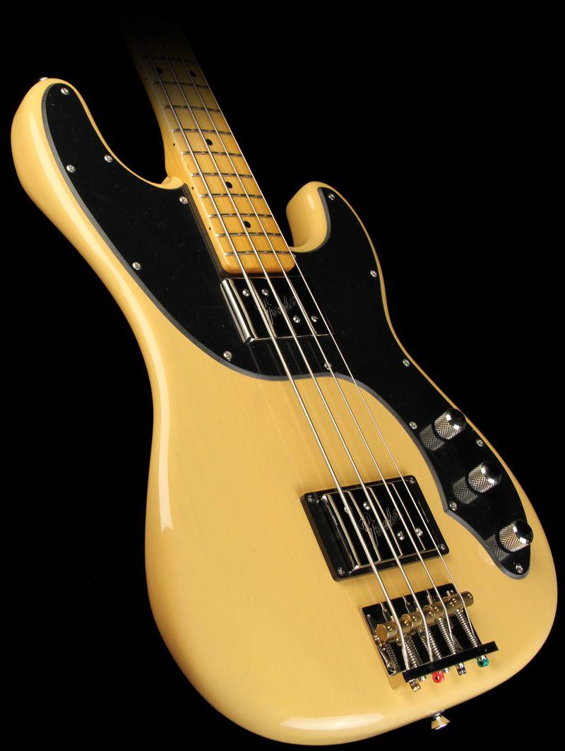 Fender Modern Player Telecaster Bass Butterscotch Blonde Telecaster Bass Guitar Obsession Bass Guitar