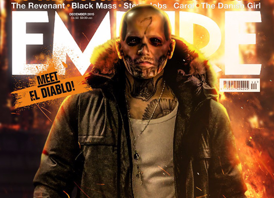 Suicide Squad: nella Copertina di Empire El Diablo, Killer Croc e Katana