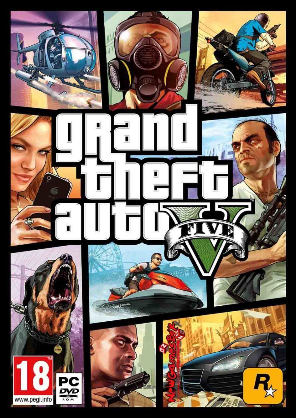 Grand Theft Auto V [GTA 5] Highly Compressed PC Games Free Download