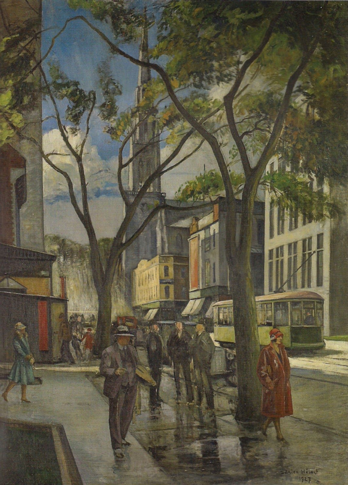 rue_saint_denis_adrien_hebert.jpg (1147×1600) Canadian