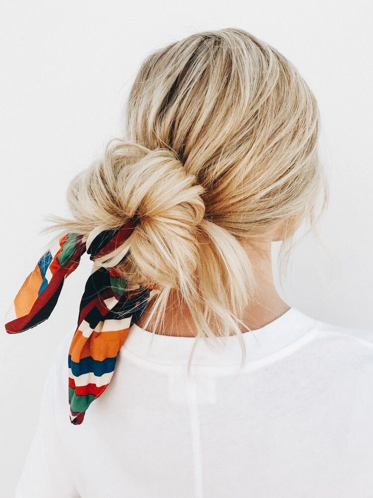 Pin By Abby Heird Content Creator On Hair Hair Styles Long Hair Styles Scarf Hairstyles