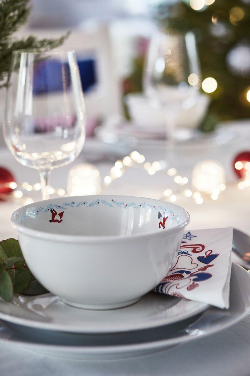 VINTERFEST Schüssel, weiß, 15cm #weihnachtenikea