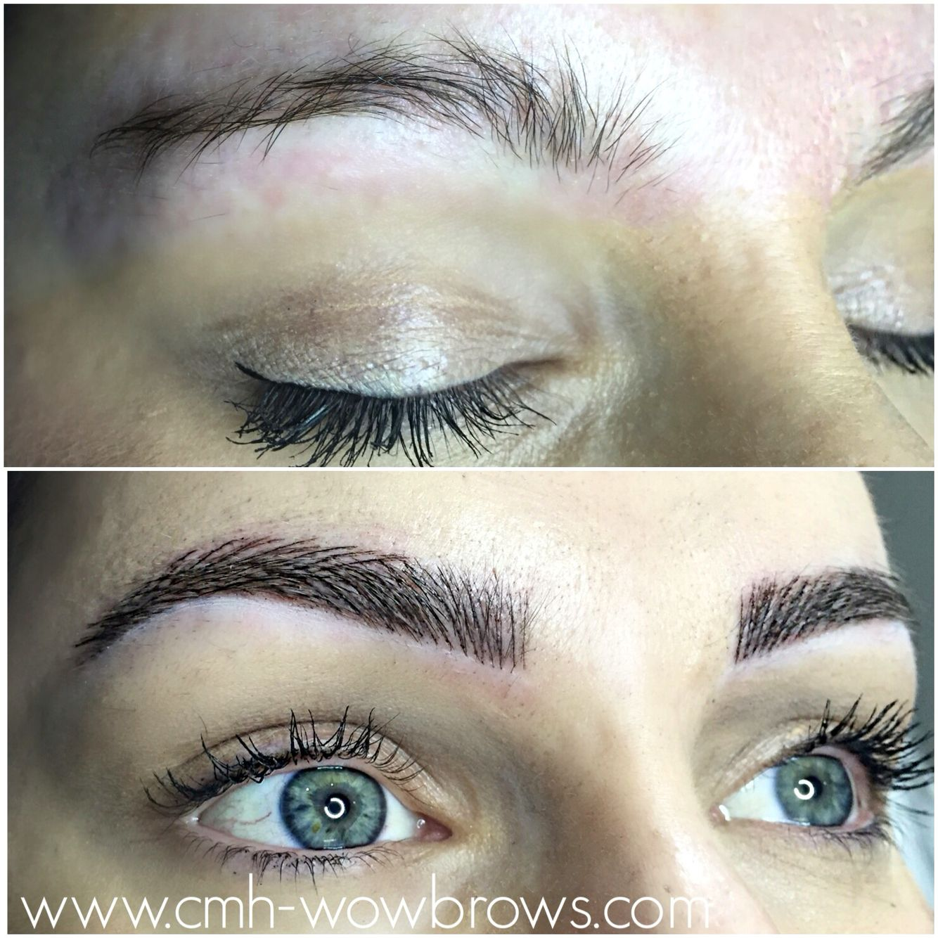 Microblading Microstroke Feathering Feather Touch Eyebrow Tattooing