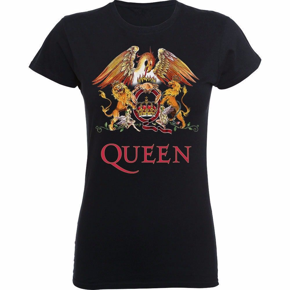 c51845c38e0db Fashion Punk Band QUEEN T Shirt Women Singer Freddie Rock Stars Printing O  Neck T-shirt Tops Hip Hop Brand Short Sleeve Shirts