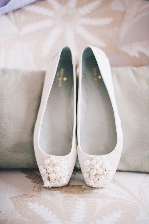 Junebug Weddings | Bride shoes