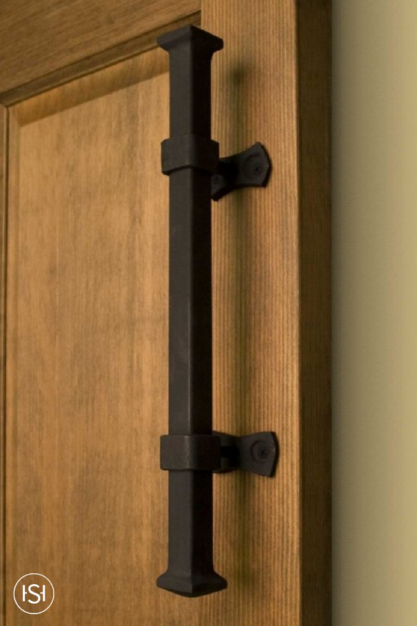 Add A Finishing Touch To Your Doorway With This Heavy Duty Square Iron Pipe Pull From Signature Hardware The Antique Inspired Finish Will Give