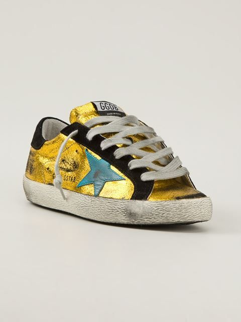 Golden Goose Deluxe Brand Super Star trainer - $529 FarFetch. Put these sneakers in your BattleShop closet today! www.BattleShop.co